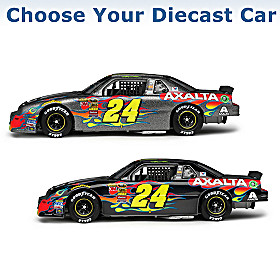 Jeff Gordon Autographed Diecast Car