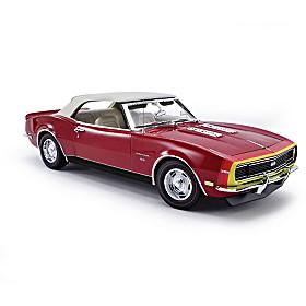 1:18-Scale 1968 Camaro Convertible Diecast Car