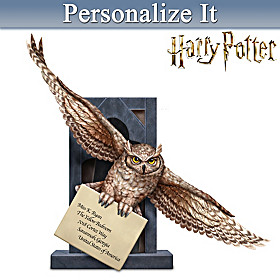 Hogwarts Welcomes You... Personalized Sculpture