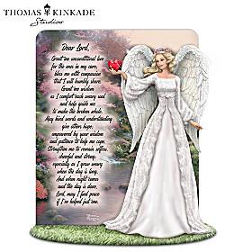 Thomas Kinkade A Tribute To Caring Sculpture
