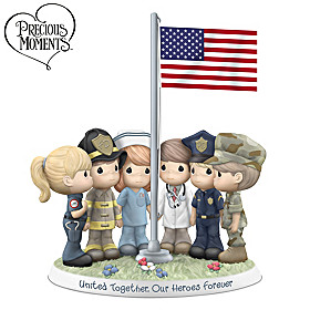United Together, Our Heroes Forever Figurine