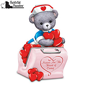 Nurses Are The Heart Of Caring Figurine