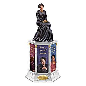 Dr. Maya Angelou Phenomenal Icon Tribute Tower Sculpture