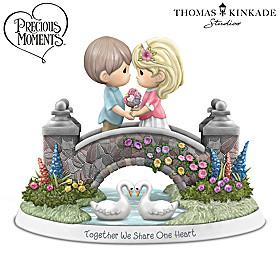Precious Moments Together We Share One Heart Figurine