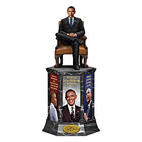 President Barack Obama: Legacy Of Change Sculpture