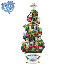 Precious Moments The Blessings of Christmas Sculpture