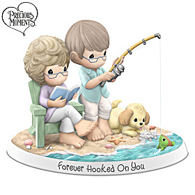 Precious Moments Forever Hooked On You Figurine