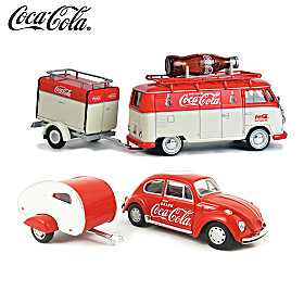It's The Real Thing Diecast Car And Trailer Set