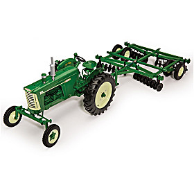 Deluxe Edition Oliver 880 Diecast Tractor And Implements Set