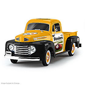 Pittsburgh Steelers Ford Pickup Sculpture