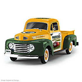 Green Bay Packers Ford Pickup Sculpture