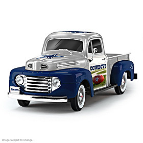 Dallas Cowboys Ford Pickup Sculpture