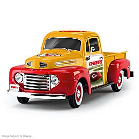 Kansas City Chiefs Ford Pickup Sculpture