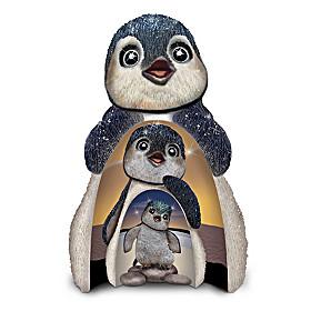 Dive Into Life Nesting Penguins Figurine Set