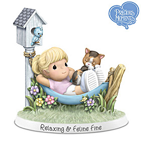 Relaxing & Feline Fine Figurine