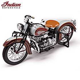 1:6-Scale 1938 Indian 4, Model 438 Diecast Motorcycle