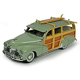 Goldvarg 1948 Chevrolet Woody Wagon Diecast Car