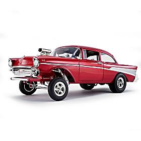 Chevrolet Bel Air Gasser - Rat Fink's Mr Gasser Diecast Car