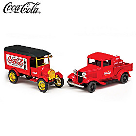 Deliveries Of Refreshment Diecast Truck Set