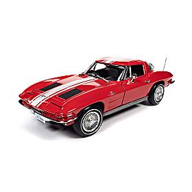 1:18-Scale 1963 Corvette Z06 Coupe Diecast Car
