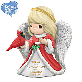 Cardinals Bring Christmas Cheer Each Holiday Year Figurine