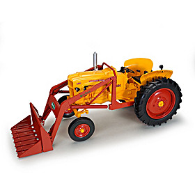 1:16-Scale Minneapolis Moline 445 Wide Front Diecast Tractor