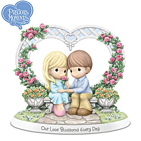 Precious Moments Our Love Blossoms Every Day Figurine