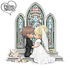 Precious Moments And The Two Shall Become One Figurine