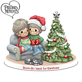 Precious Moments You're All I Want For Christmas Figurine