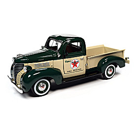 1:24-Scale Texaco 1941 Plymouth Diecast Truck