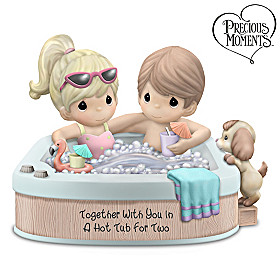Together With You In A Hot Tub For Two Figurine