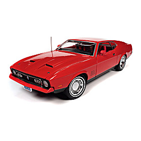 1:18-Scale James Bond 1971 Ford Mustang Mach 1 Diecast Car