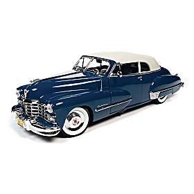 1:18-Scale 1947 Cadillac Series 62 Cabriolet Diecast Car