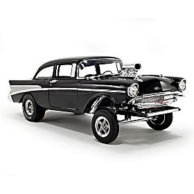 1:18-Scale 1957 Bel Air Gasser: Night Stalker Diecast Car