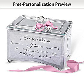 Bundle Of Joy Personalized Music Box
