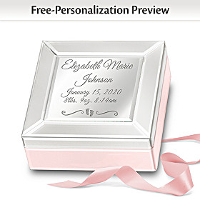 Baby Blessings Personalized Music Box