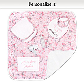 Welcome Home Personalized Baby Doll Accessory Set