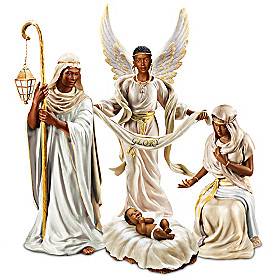 King Of Peace Nativity Figurine Set