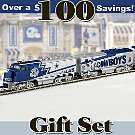 Dallas Cowboys Express Train Set