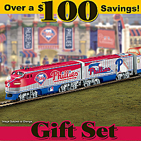 Philadelphia Phillies Express Train Set