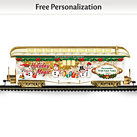 2021 Personalized Holiday Train Car