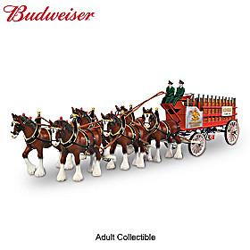 Budweiser Clydesdales Vintage Masterpiece Sculpture