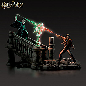 HARRY POTTER Battle Of HOGWARTS Sculpture