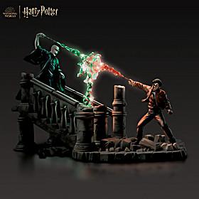 HARRY POTTER Battle Of HOGWARTS Sculpture