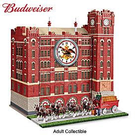 Budweiser Brew House Clock Masterpiece Edition Sculpture