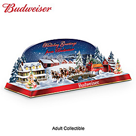 Holiday Greetings From Budweiser Sculpture