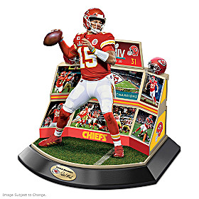 Chiefs Super Bowl LIV Championship Moments Sculpture