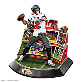 Buccaneers Super Bowl LV Championship Moments Sculpture