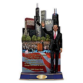 Barack Obama A Victory Of Hope Sculpture