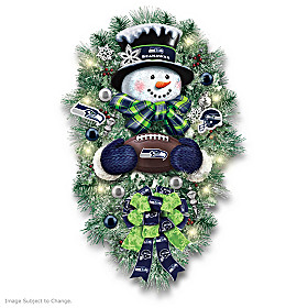Seattle Seahawks Wreath